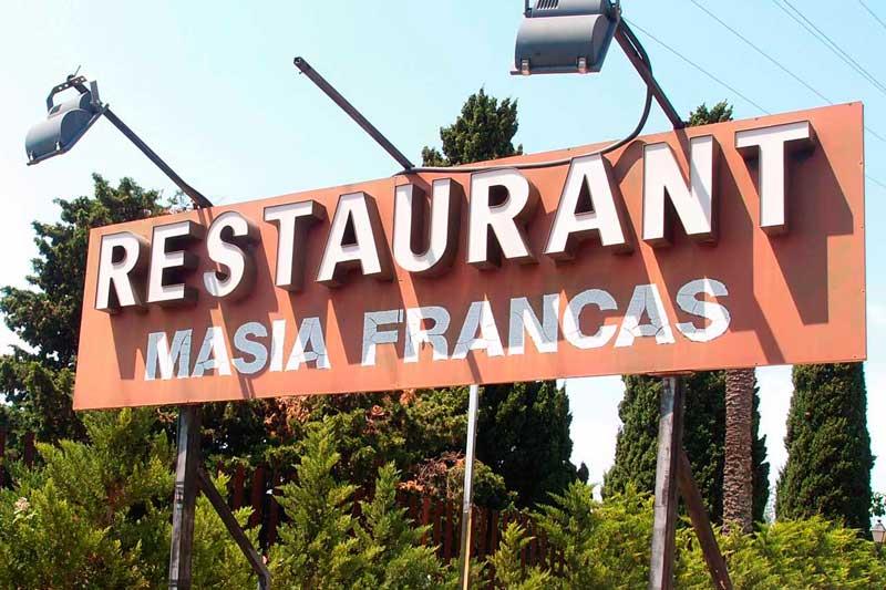 Masia Francas Restaurant